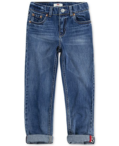 Levi's Big Boys 502™ Regular-Tapered Fit Stretch Jeans