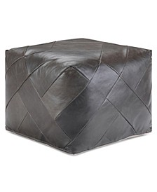 Lovell Square Pouf, Quick Ship