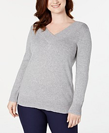 V-Neck Solid Sweater, Created for Macy's