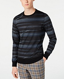 Men's Slim-Fit Random Striped Sweater