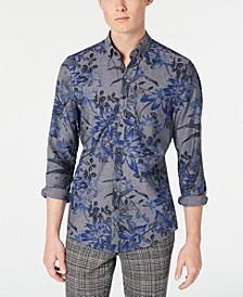 Men's Slim-Fit Royal Floral Shirt