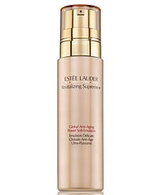 Revitalizing Supreme+ Global Anti-Aging Power Soft Emulsion, 3.4-oz.