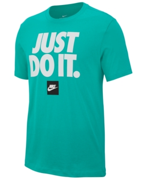 outlet innovative design stable quality Men's Sportswear Just Do It T-shirt In Kinetic Green