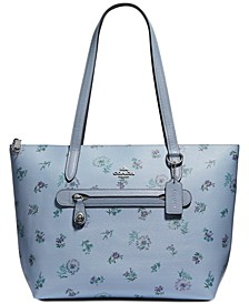Taylor Tote In Meadow Print