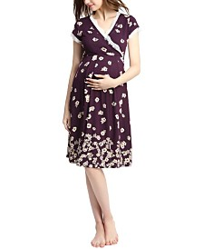 Kimi & Kai Shae Maternity Nursing Night Gown