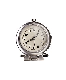 Stilnovo Chrome Plated Travel Alarm Clock