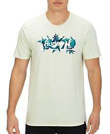 Hurley Men's Botanical Logo Graphic T-Shirt