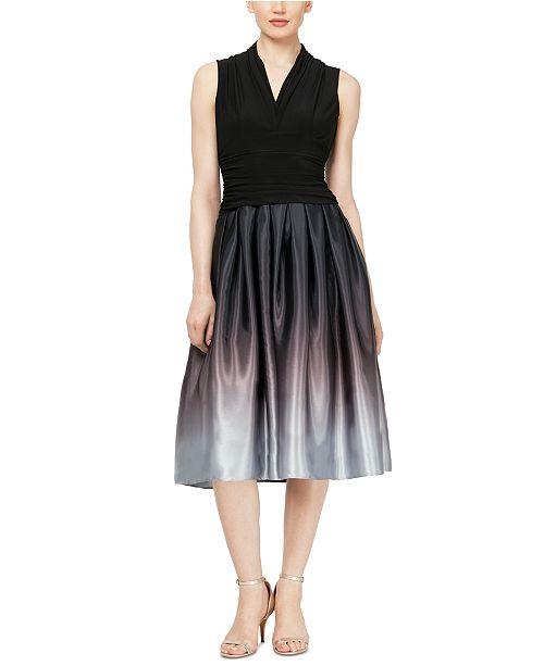 SL Fashions Ombré Party Dress