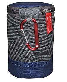 Budweiser Bowtie Can Cooler with Carabiner