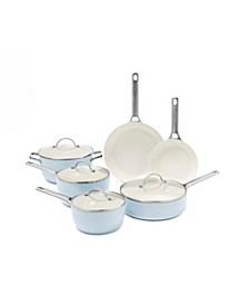 Padova 10-Pc. Ceramic Non-Stick Cookware Set