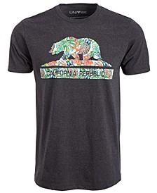 Cali Bear Multi Men's T-Shirt by Univibe