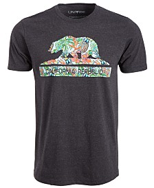 Cali Bear Multi Men's T-Shirt by Univibe