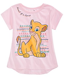 Disney Little Girls Nala Lioness T-Shirt