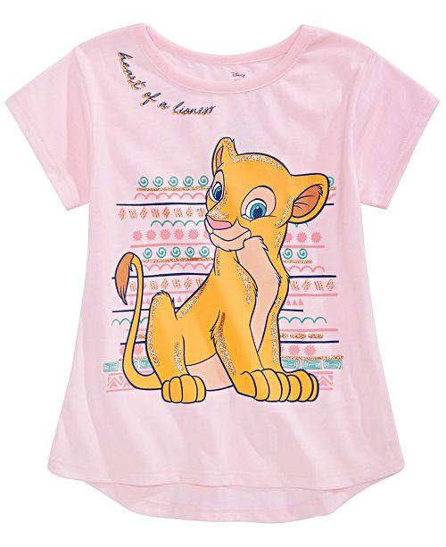 Disney Little Girls Nala Lioness T-Shirt