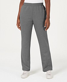Fleece Pull-On Pants, Created for Macy's