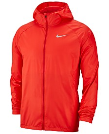 Nike Men's Essential Water-Repellent Hooded Running Jacket