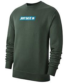 Men's Crew Fleece Just Do It Sweatshirt
