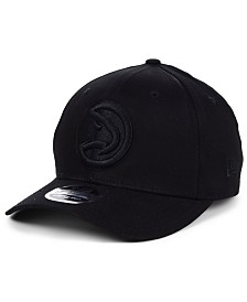 New Era Atlanta Hawks Triple Black 9FIFTY Snapback Cap