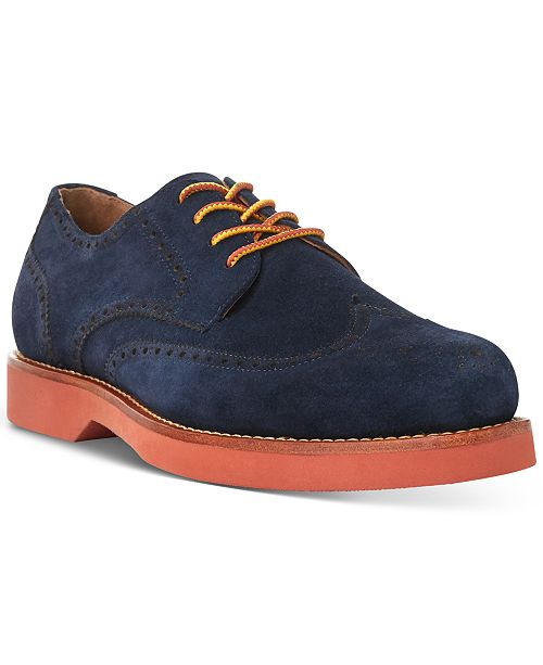 Polo Ralph Lauren Men's Rhett Wingtip Oxfords
