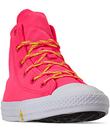 Converse Little Girls Chuck Taylor High-Top Glow Up Casual Sneakers from Finish Line