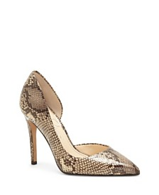 Jessica Simpson Pheona D'Orsay High Heel Pumps