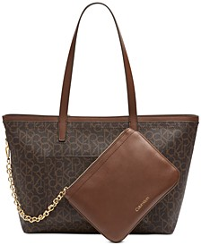 Signature Beverly Tote
