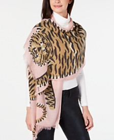 Echo Tiger Oblong Scarf