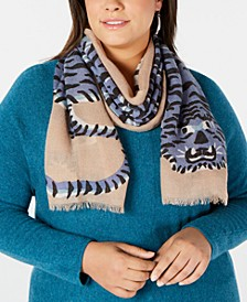 Tiger Oblong Scarf