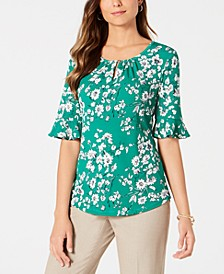 Ruffled-Sleeve Top, Created for Macy's