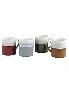 Terra Bella 4 Piece 18.5 Ounce Mug Set