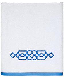 "CLOSEOUT! Avanti Geo Cotton 27"" x 50"" Bath Towel"