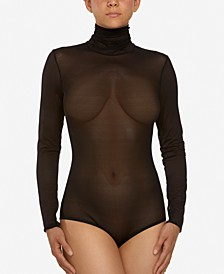 Women's Turtleneck Mesh Bodysuit 258234