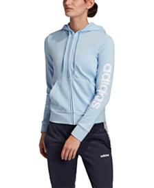 adidas Linear-Logo Zip Hoodie
