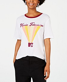 Juniors' MTV Graphic Ringer T-Shirt