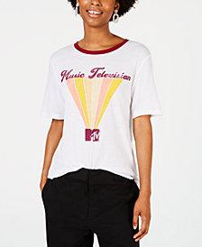 Freeze 24-7 Juniors' MTV Graphic Ringer T-Shirt