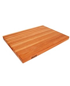 "Cherry Wood 24"" x 18""  Reversible Edge Grain Cutting Board"