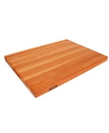 "John Boos Cherry Wood 24"" x 18""  Reversible Edge Grain Cutting Board"