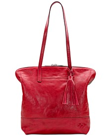 Leather Brights Rochelle Satchel