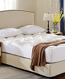 Bamboo From Rayon Fitted Down Alternative King Mattress Pad