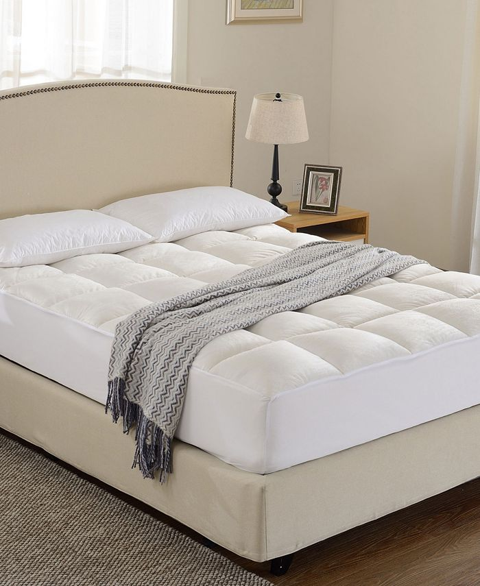 Cheer Collection - Luxurious Microplush Mattress Topper- Twin