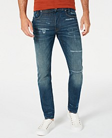 Men's 3D-Staq Slim-Fit Stretch Jeans