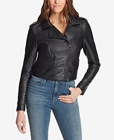 Skinnygirl Cropped Moto Jacket