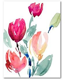 Tulip Study I Gallery-Wrapped Canvas Wall Art Collection