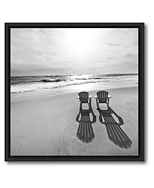 Beach I Framed and Matted Art Collection