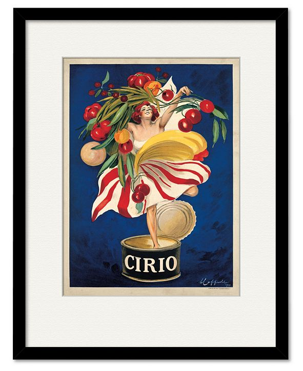 "Courtside Market Cirio 16"" x 20"" Framed and Matted Art"