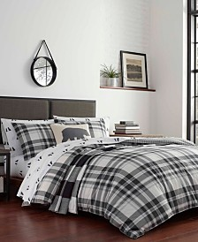 Eddie Bauer Coal Creek Plaid Quilt Set, King