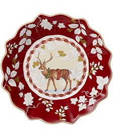Toy's Fantasy Small Bowl: Standing Reindeer