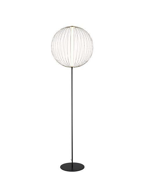 Nova Lighting Spokes Floor Lamp Round Small