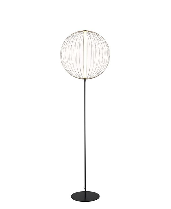 NOVA of California NOVA Lighting Spokes Floor Lamp Round Small