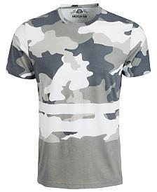 American Rag Men's Camouflage Hem Stripe T-Shirt